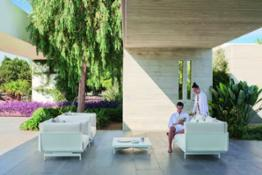 onde composition sofa white 01 with models