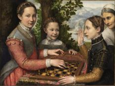 12 Sofonisba Anguissola Partita a scacchi