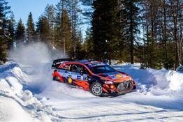 Hyundai WRC Arctic Rally Finland risultato  1