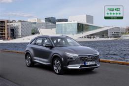 Hyundai NEXO 5 stelle Green NCAP