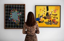 Wassily Kandinsky (est. £1.5-2 million) and Arshile Gorky (est. £2.2-2.8 million) 3