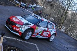 Paolo Andreucci e Francesco Pinelli MRF Tyres - H Sport - Ciocco Rally 2021  1