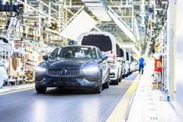 280039 Volvo Cars manufacturing plant in Daqing China