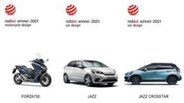330941 Honda si aggiudica i premi Red Dot per Jazz e Jazz Crosstar Full Hybrid e