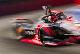 Nissan Formula E - Season 7 - Rome - Rounds 3 and 4 - Oliver Rowland - Car 22 %22LEAF%22