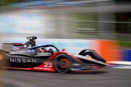 Nissan Formula E - Season 7 - Rome - Rounds 3 and 4 - Sebastien Buemi - Car 23 %22ARIYA%22