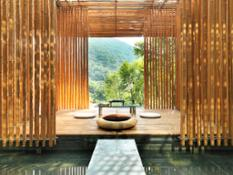 Bamboo Wall 竹屋1