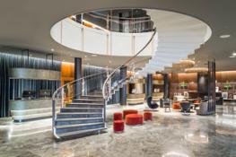 Dansk Arkitektur Center SAS Royal Hotel udstilling 3 Foto Radisson Collection Royal Hotel hires