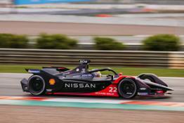 Nissan Formula E - Season 7 - Valencia - Rounds 5 and 6 - Oliver Rowland #22 LEAF