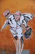 Super Pope - Via Plauto - Roma - Italia - 2014