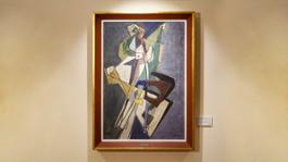 Afro, Tenaglia e camera oscura, 1949, olio su tela, cm 100x70