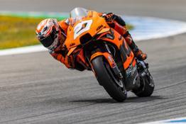 Iker Lecuona KTM 2021 MotoGP Jerez test