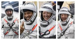crew-1 return collage