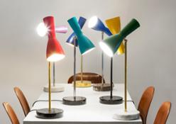 Bronzetto Table lamp WORMHOLE