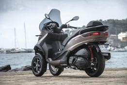 MP3 500 hpe Sport Advanced - Static & Details
