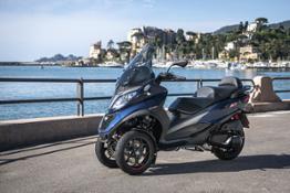MP3 400 hpe Sport - Static & Details