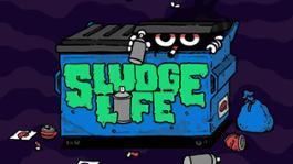 SLUDGE LIFE - Key Art
