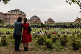 Micol Sacchi spettacolo Le Sacre du Printemps nel Giardino delle Rose