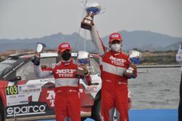 Paolo Andreucci e Rudy Briani Rally Italia Sardegna 2021 5