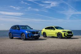 Photo Set - The new BMW X3 M Competition and the new BMW X4 M Competition (06_2021)_