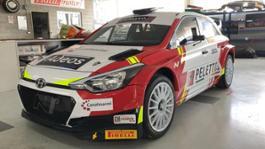 Stefano Peletto Massimo Barrera Hyundai i 20 R5 Rally Alba 1