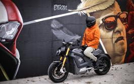 Italian Volt Lacama custom electric motorcycle 2021 by Tazzari EV Technology Imola 3