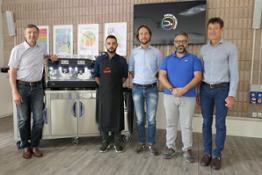 1 da sx a dx Dante Monastero Sales&Marketing Director LSM Francesco Costanzo Andrej Godina Mauro Illiano Roberto Nocera CEO L