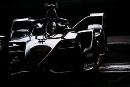Nissan Formula E driver Sebastien Buemi in car #23 ARIYA-source