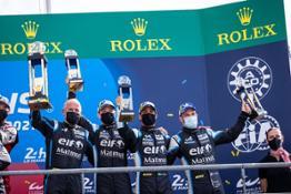 Alpine Podium 24H Le Mans 2021