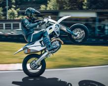 BUILT FOR COMPETITION - HUSQVARNA MOTORCYCLES FS 450 AVAILABLE NOW