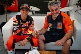 Josep Garcia - Red Bull KTM Factory Racing - Contract Extension