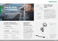 com IAAchassis Schaeffler offre soluzioni innovative per i sistemi chassis del futuro.