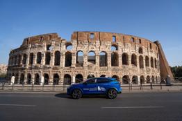 Nissan Qashqai Officical Electrified Car Run Rome the Marathon (1)
