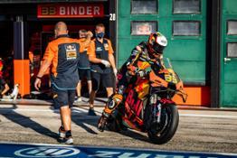 Brad Binder KTM 2021 MotoGP Misano test