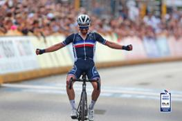 JULIAN ALAPHILIPPE FFC with Alé Jersey Cycling World Championships 2021