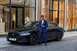 Jag XF London Chase NTTD BTS 270921 01