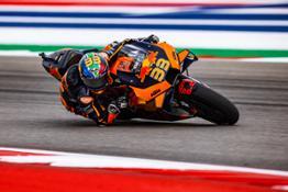 Brad Binder KTM 2021 MotoGP COTA race
