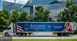 PepsiCo Rolling Rememberance truck