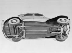 1934 - Sospensioni a barre di torsione su Traction Avant 0 0