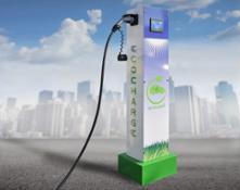 Ecolibrì Ecocharge  stazione di ricarica  per autovetture elettriche ecocharge 2