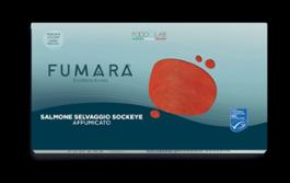 FUMARA SALMONE SELVAGGIO SOCKEYE AFFUMICATO 250 g