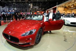 Maserati - Anteprima mondiale al Salone di Ginevra per la nuova Maserati GranCabrio Sport