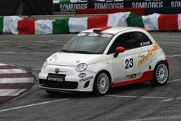 abarth 500 rally cup