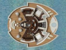 Solar Floating Island layout