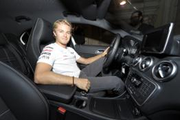 Nico Rosberg Classe A Vogue Fashion   s Night Out