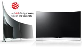 Red dot Best of the Best LG Curved OLED TV Mar13[20130313083459055]