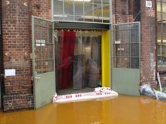 Barriera anti alluvioni