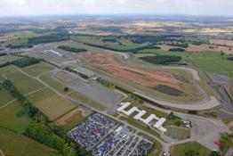 1. Donington Park in the UK will be the site of the new Formula E headquarters