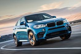 Photos - BMW X6 M - Driving scenes