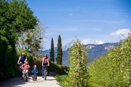 Bici e fiori 1b - Familienhotels Alto Adige